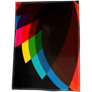 "60"" x 80"" Dye Sublimated Polar Fleece Blanket"