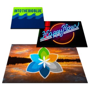 (Custom Size) Sublimated Floor Mat