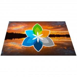 "36"" x 60"" Sublimated Floor Mat"