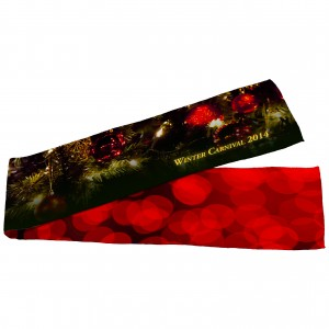 Sublimated Fleece Scarf