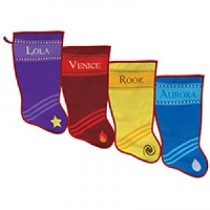 Dye Sublimated Holiday Stocking