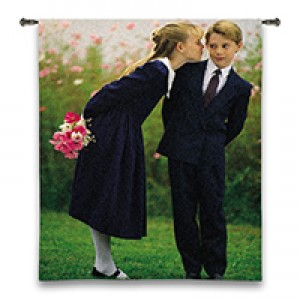 "54"" x 80"" Jacquard Woven Wall Tapestry"