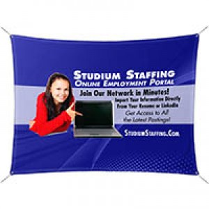 "60"" x 80"" Polar Fleece Banner"