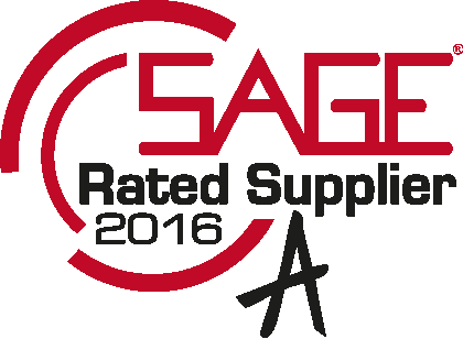 SAGE Rated Supplier