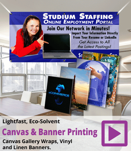 Canvas and Banner Printing